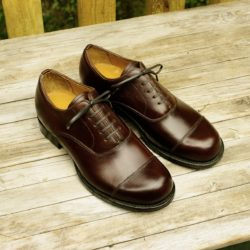 jumonji works BALMORAL STRAIGHT TIP SHOES