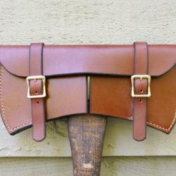 leather Double Bit Axe Sheath jumonji works